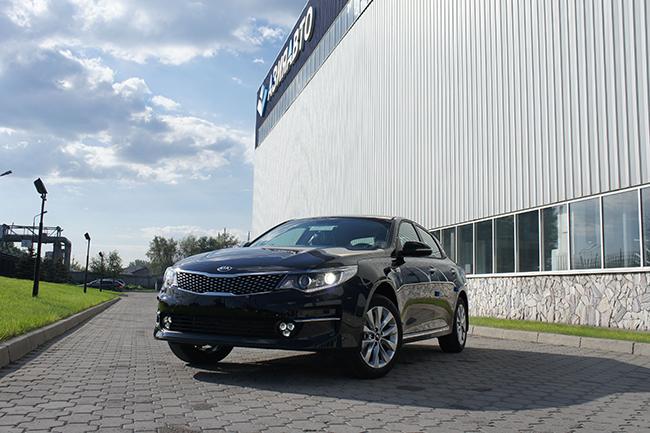 Сборка новой Kia Optima началась в Казахстане